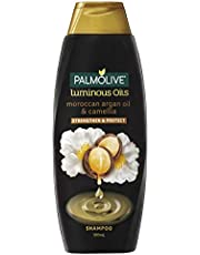 Palmolive Luminous Oils Hair Shampoo Moroccan Argan Oil and Camellia Strengthen and Protect, 350mL
