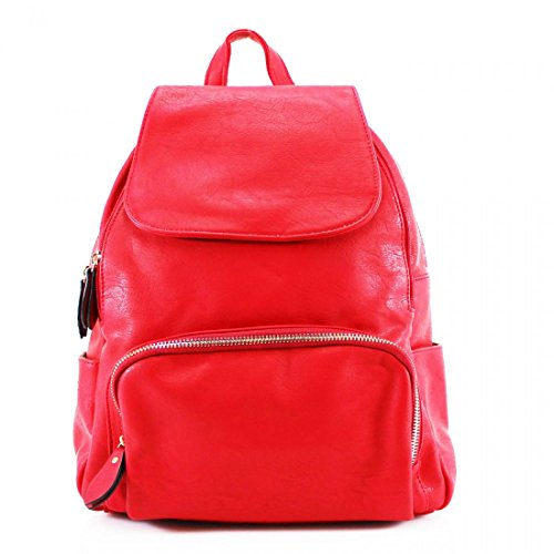 Craze Red Woman Backpack Bag London Bwxr1aPq0B