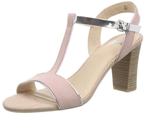Caprice 28310 - Sandalias Mujer Rosa - Pink (ROSE/SILVER 597)