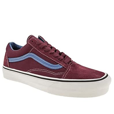 Vans Old Skool - 6 Uk - Burgundy - Suede  Amazon.co.uk  Shoes   Bags c7fa7d9b0