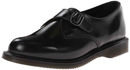 Dr. Martens LORNE Polished Smooth BLACK - Zapatillas de casa de cuero mujer negro - negro