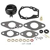 Cuque 25 Pcs OE# 439071 0439071 Carburetor Carb Repair Rebuild Kit for Johnson / Evinrude1.5 & 2/3 / 5/5.5/6 / 7.5/10 / 15/18 hp