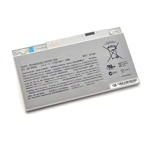 NO1seller Top Laptop Battery BPS33 (11.4V 3760MAH 43WH) For SONY VAIO SVT-14 SVT-15 T14 T15 Touchscreen Ultrabooks VGP-BPS33