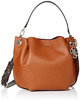 GUESS Digital Multi Hobo, Cognac