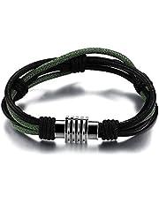 Men personality retro leather woven bracelet PH892