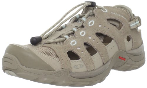 Salomon Beige Beige Damen Outdoorsandalen Damen Salomon Outdoorsandalen Damen Salomon nrvg1xn