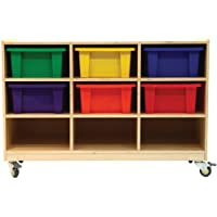 A+ Childsupply 9 Bin Storage With Casters