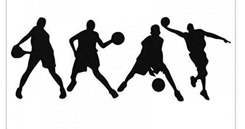 Adhesivos de pared serie baloncesto pegatinas niño dormitorio ...