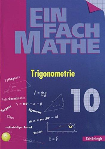 EinFach Mathe: Trigonometrie: Jahrgangsstufe 10