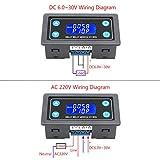 Delay Relay Module, DROK DC 6-30V Timer Relay 12V
