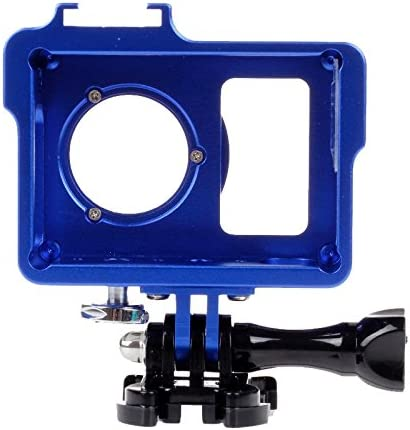 Screw UV Lens Filter for Xiaoyi Black Color : Blue YANTAIANJANE Camera Accessories Housing Shell Metal Protective Cage with Basic Mount