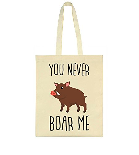 Design Bag Tote Cute You Me Wild Boar Boar Never 04xzw8qY