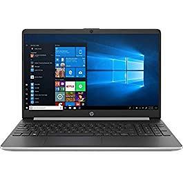 2020 Newest HP 15.6″ FHD Touchscreen Laptop Intel Core i5-1035G1 12GB DDR4 RAM 256GB SSD HDMI Bluetooth 802.11/b/g/n/ac Windows 10 Pro Silver 32GB Tela USB Card