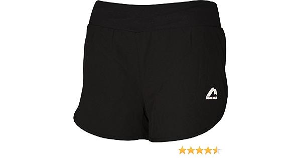 More Mile Mens Sports Shorts Exercise Fitness Gym Running Short Black
