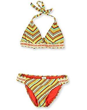Womens Santiago Side Tab 2 Piece Bikini