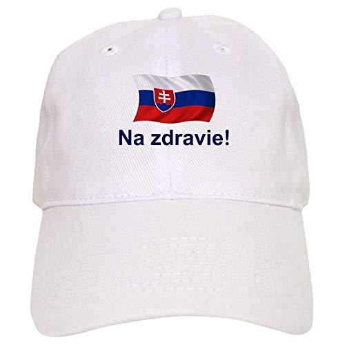 Slovak Na Zdravie! - Baseball Cap Adjustable Closure, Unique Printed Baseball Hat ()