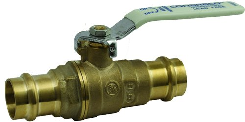 "Apollo Valves - 1/2"" Apolloxpress 94VLF-103-01 Full Port Ball Valve, 250 PSI, Brass Body"