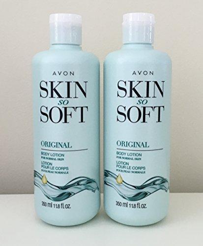 o Soft Original + Jojoba Body Lotion 11.8 oz. ea. (Skin So Soft Original Moisturizing)