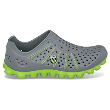 3aafc68ba3c0 K-Swiss Vertical Tubes Recover Running Shoe - Charcoal Bright Green (6  Men s)  Amazon.ca  Sports   Outdoors