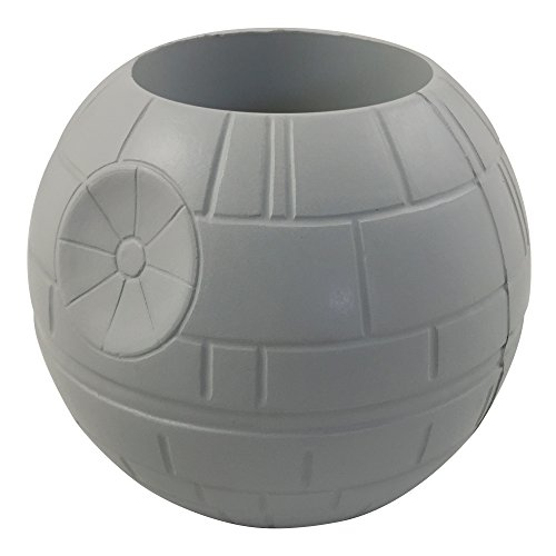 ICUP 14164 Star Wars Death Star Molded Can Cooler, Multicolor
