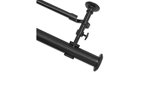 100-144 Source Global Aspire Double Rod End Cap Black