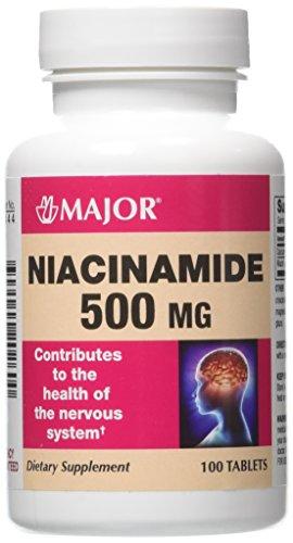 DaVinci Laboratories Niacinamide -- 500 mg - 100 Tablets