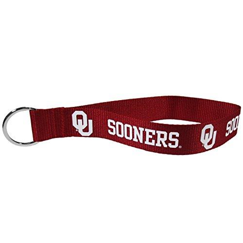 NCAA Oklahoma Sooners Lanyard Key Chain, Wristlet