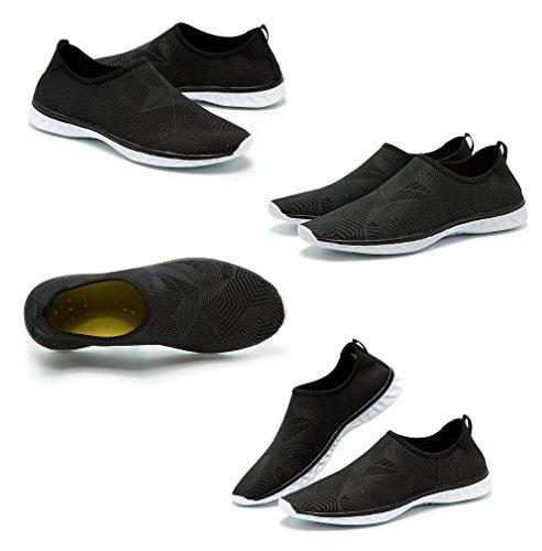 d'eau Chausson Casual Noir Confortable Séchage Chaussure Rapide Respirant Jixin4you Fwq56UPU