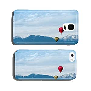 Red balloon in the blue sky cell phone cover case Samsung S6