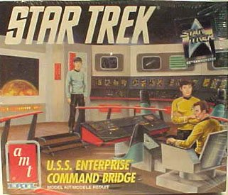 Star Trek AMT Ertl U.s.s. Enterprise Command Bridge Model Kit