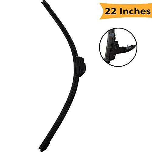 Contour Universal Wiper Blade - SeatPod Windshield Wiper Blades 22-inches Universal Wiper Blade (Pack of 1)