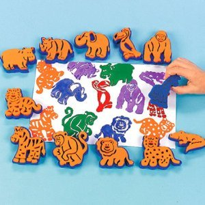 fun-express-zoo-animals-stamps-crafts-birthday-party-stampers-stationary-goody-bags-novelty-12-count