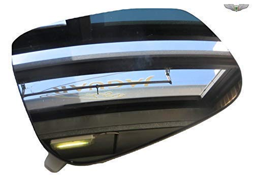 Jaguar New Genuine Right Convex Wing Mirror Glass C2Z31945
