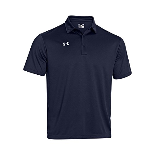 Under Armour Men/'s Team/'s Armour Polo Golf Shirt, XX-Large, Midnight Blue (Monster Blue Golf)