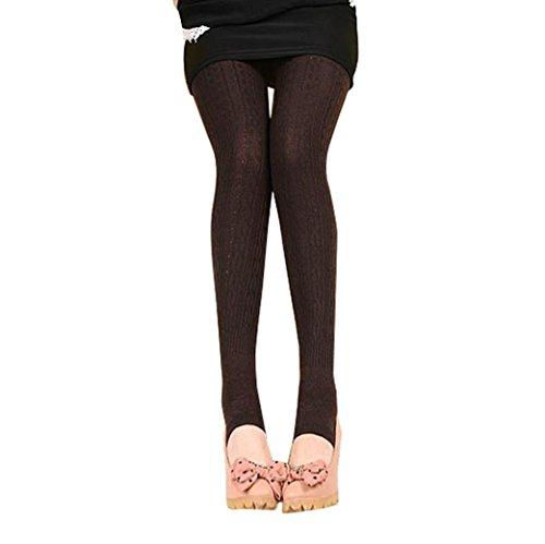 Clearance Leggings,Han Shi Winter Warm Girl Women Free Size Cotton Tights Pants Stirrup Trousers (M, - Womens Wearhouse