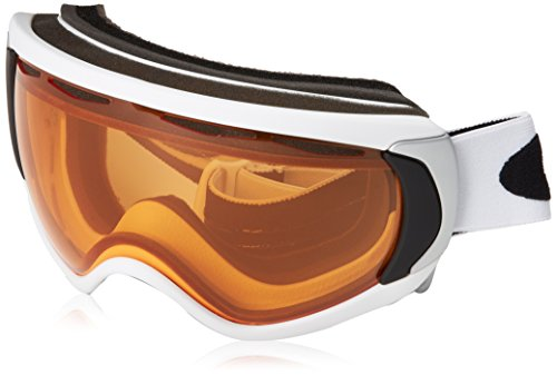 Oakley White Shoes (Oakley Canopy Snow Goggle, Matte White with Persimmon Lens)