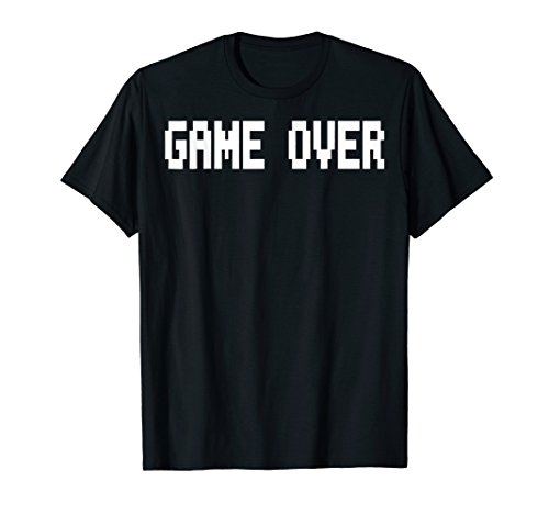 Graphic Game Over Video Game T-shirt for men, boys and women
