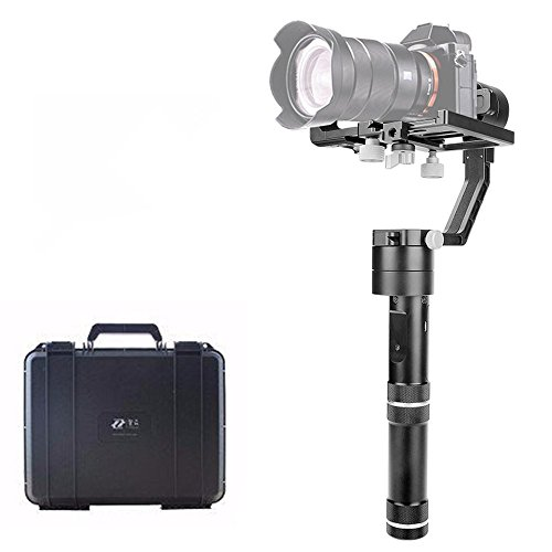 (zhi yun Crane V2 3-axis Stabilizer Handheld Gimbal Compatible DSLR Canon,Nikon, Sony Alpha7 and Panasonic)