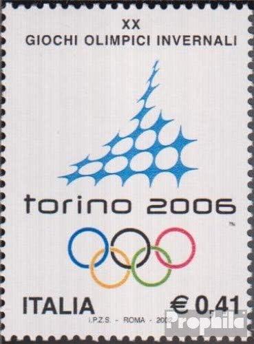 Timbres pour Les collectionneurs Sports dhiver Italie mer.-no.: 2827 compl/ète.Edition. 2002 Jeux Olympiques Jeux dhiver/´06 Turin
