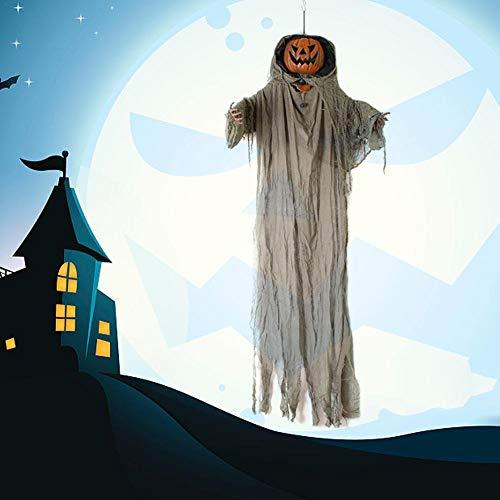 Funarrow Halloween Hanging Ghost LED Lantern with Halloween