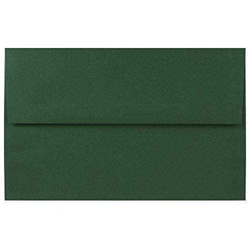 - JAM PAPER A10 Premium Invitation Envelopes - 6 x 9 1/2 - Dark Green - 50/Pack