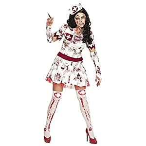 WIDMANN Disfraz de adulto Zombie Enfermeras: Amazon.es: Juguetes y ...
