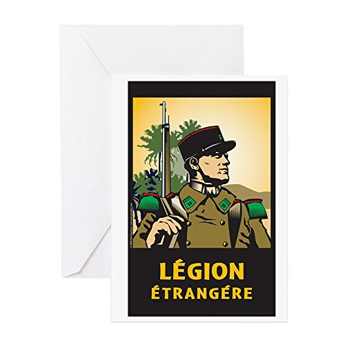 CafePress - Legionnaire - Greeting Card, Note Card, Birthday Card, Blank Inside (Legion Glossy Paper)