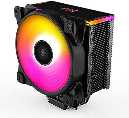 XIAOXIN Refrigerador de CPU LED Enfriador de Aire de CPU ' 4 Heatpipes, 1x 120mm editable RGB Ventilador con Controlador