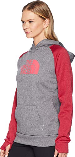 Medium amp; Atomic Hoodie The Pink Heather Half Fave Dome Women's North Grey Tnf Face Pullover Ow7xOzRB