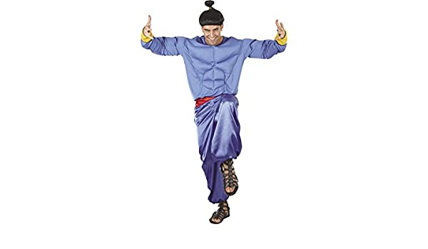 DISONIL Disfraz Genio Hombre Talla XL: Amazon.es: Juguetes y juegos