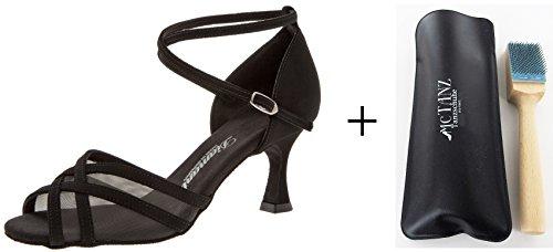 Diamant 035-087-040 Mesdames chaussures de danse + Mc Tanz brosse