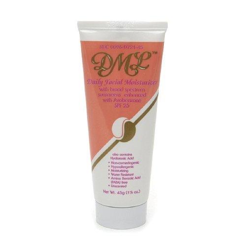 DML Daily Facial Moisturizer SPF 25 1.5 oz Pack of 5 by DML