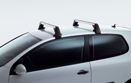 (1K0-071-126 Original Volkswagen Roof Racks For GTI 06-14 and Golf 09-14)
