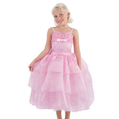 Amazoncom Pretty Pink Prom Dress Costume By Puppet Workshop Small